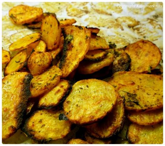 Sprøde ovnkartofler 3