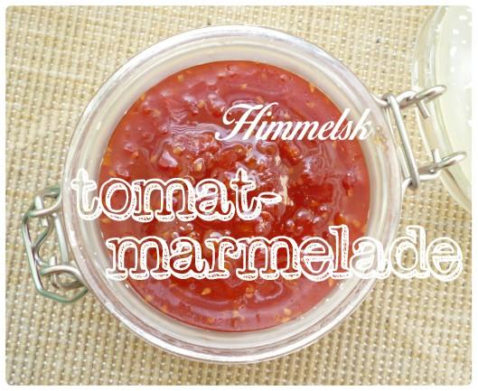 Tomatmarmelade 1