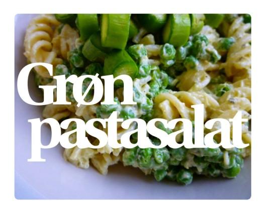 Grøn pastasalat 1