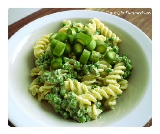 Grøn pastasalat 4