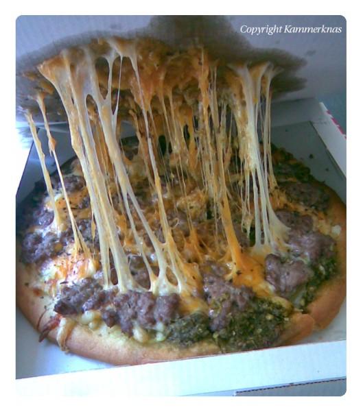 Ostepizza