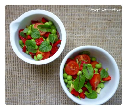 Salat og mormordressing 1