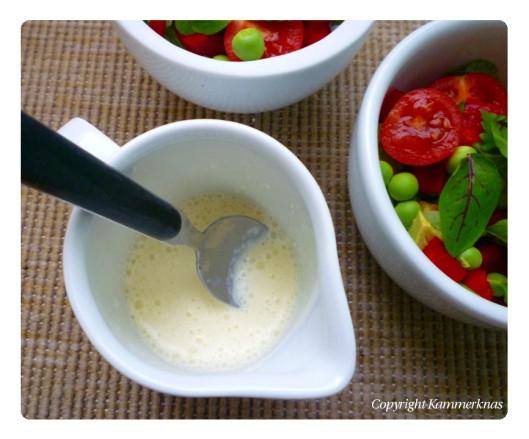 Salat og mormordressing 2