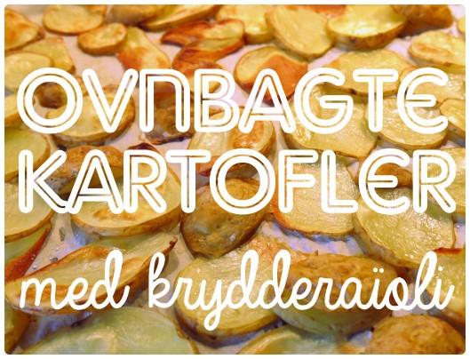 Ovnbagte kartofler og krydderaïoli