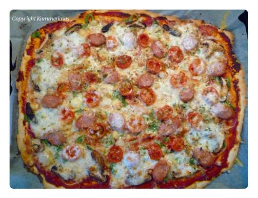 9 Maj - Kammerknas pizza