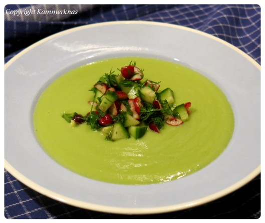 Avocadosuppe 4