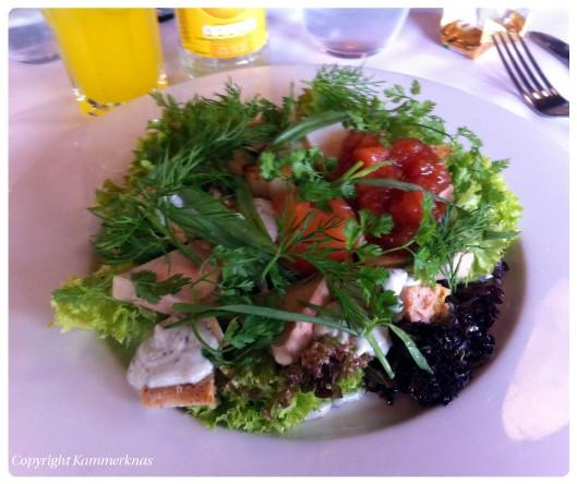 Salat på Carlton