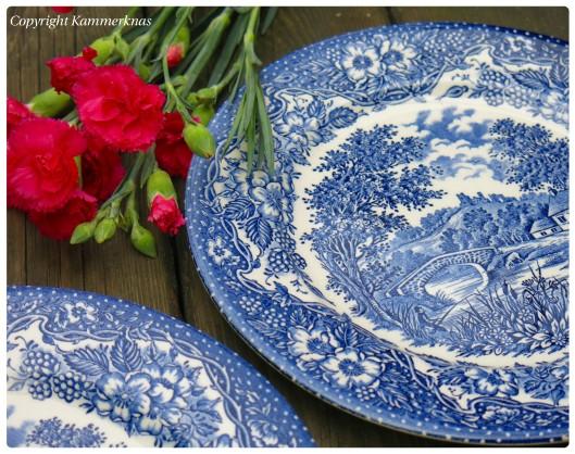 Blå tallerkener 1