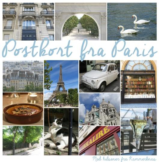 Hilsen fra Paris