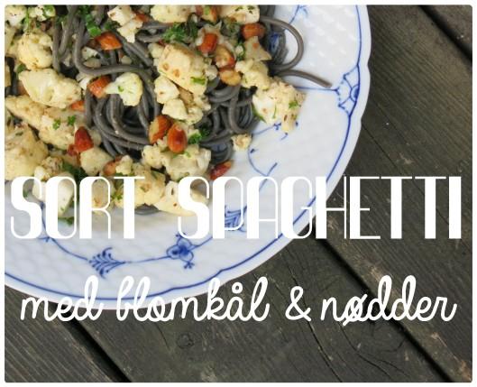 Spaghetti med blomkål og nødder 1