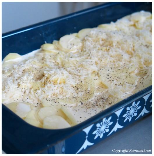 Hamburgerryg med flødekartofler 3