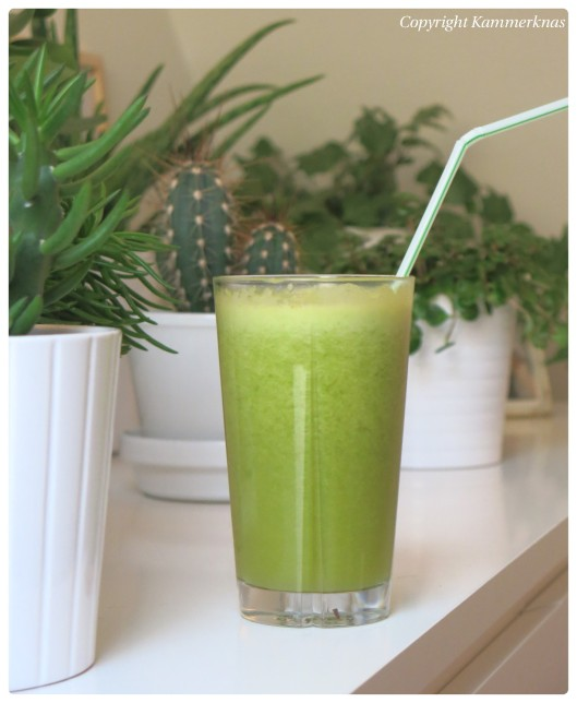 Grøn frugtjuice 1