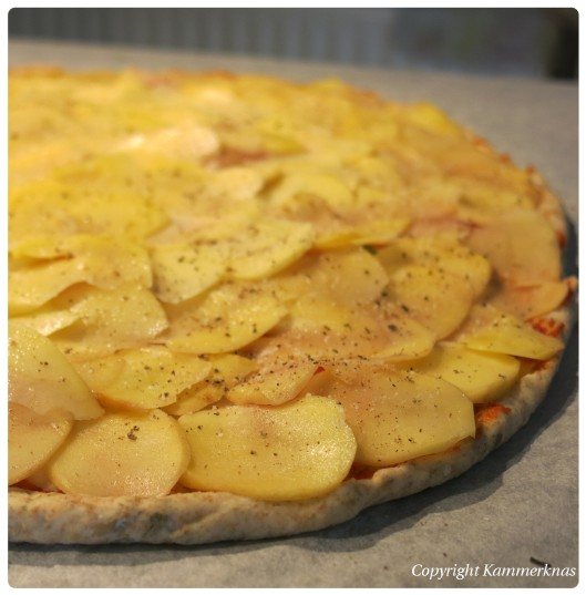 6. Kartoffelpizza