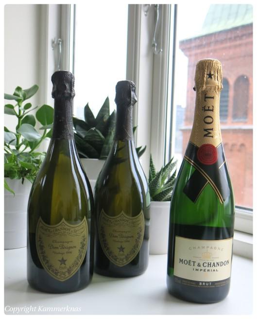 Nytår og champagne 2