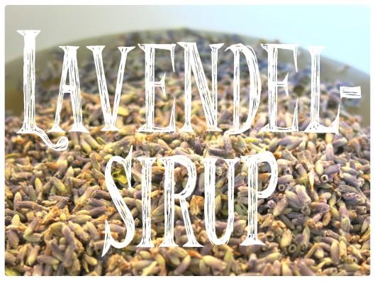 Lavendelsirup 1