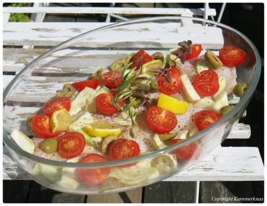 Torsk med bagt tomat og fennikel 2