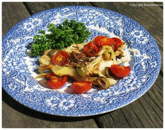 Torsk med bagt tomat og fennikel 4