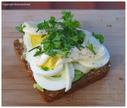 Æggemad med spidskål 1