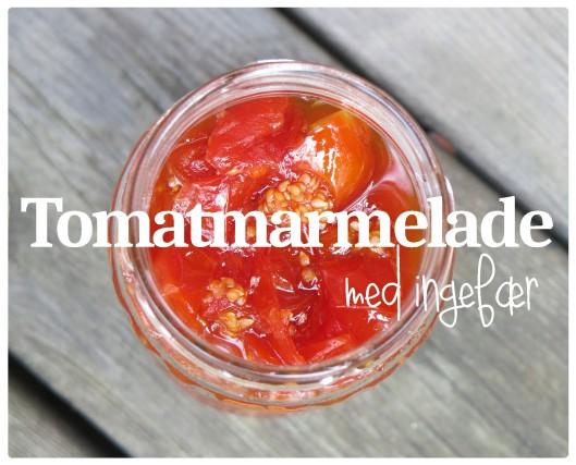 Tomatmarmelade med ingefær 1