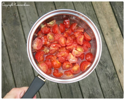 Tomatmarmelade med ingefær 3