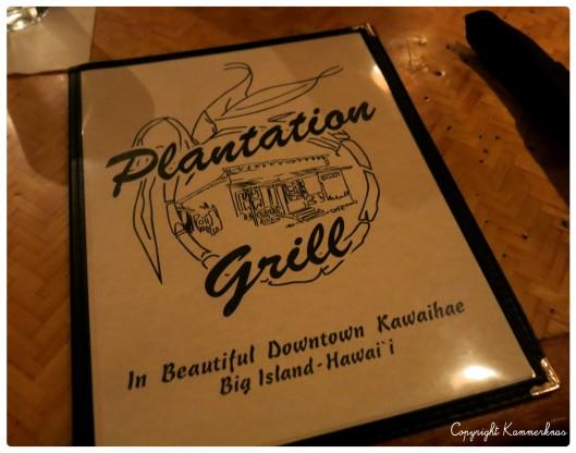 Plantation Grill Big Island 4