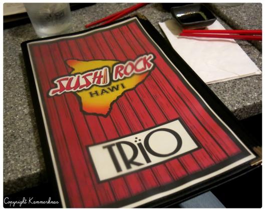 Sushi Rock Trio Hawi 2