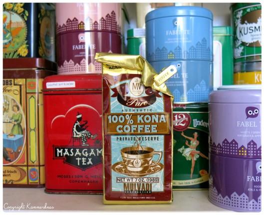 Kona coffee 100%