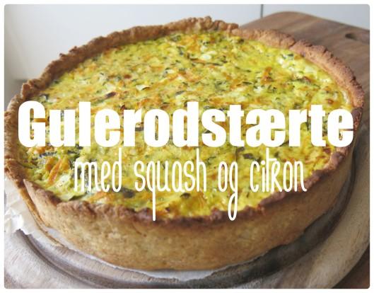 Gulerodstærte med citron 1