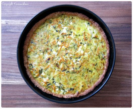 Gulerodstærte med citron 6